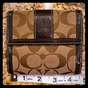 Coach Billfold Wallet